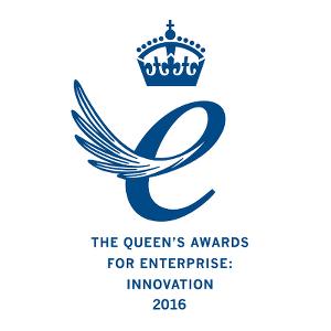 Queen's Award for Enterprise:  Innovation 2016