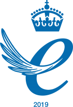 Queens award 2019 logo